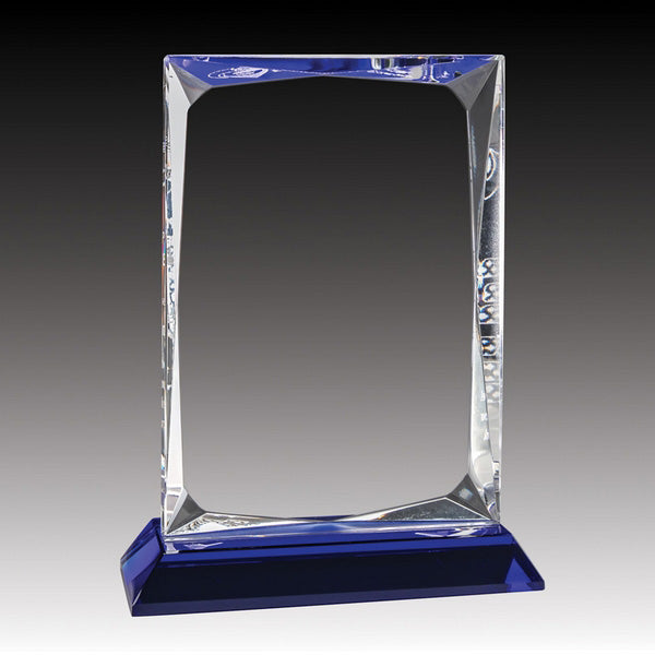 Crystal Award - Cobalt Series - Ice Block (A3332) - Quest Awards