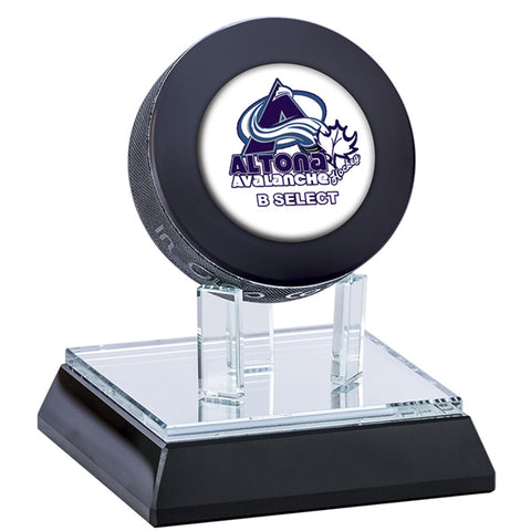 Hockey Trophy - Glass Puck Display Stand (A3560) - Quest Awards