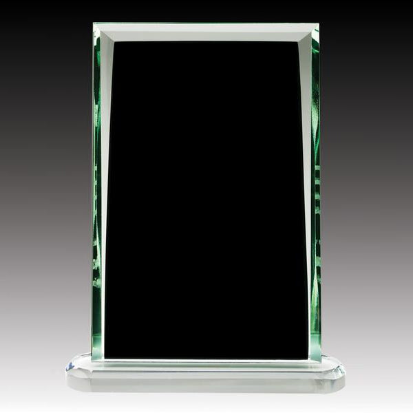Glass Award - Midnight Series - Black Plaque (A2518) - Quest Awards