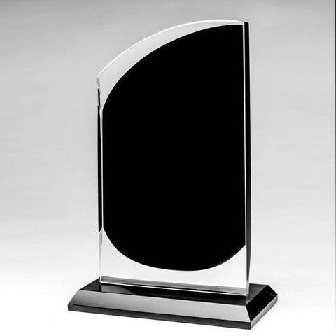 Glass Award - Onyx Series - Slope (A2522) - Quest Awards