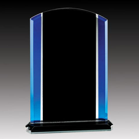 Glass Award - Prestige Series - Blue Raven (A2527) - Quest Awards