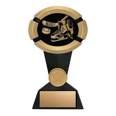 Hockey Trophy - Impact Black and Gold - Quest Awards