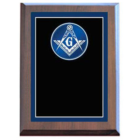 Plaque - Specialty - Masonic - Various Sizes and Laminated Finishes - Quest Awards