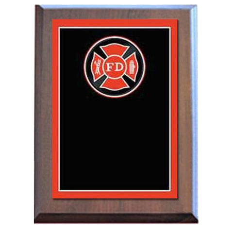 Firefighter Plaque - Specialty Plate - Various Sizes and Laminated Finishes - Quest Awards