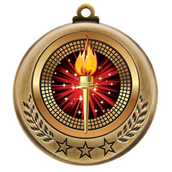 "Victory Medallion - Spectrum Series - 2 3/4"" Diameter (A3162) - Quest Awards"