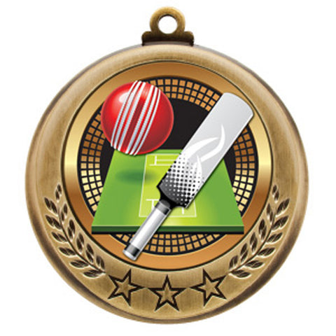 "Cricket Medallion - Spectrum Series - 2 3/4"" Diameter - Quest Awards"