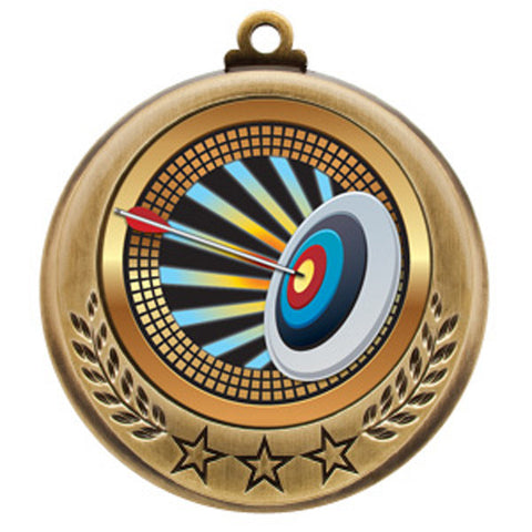 "Medallion - Spectrum Series - Archery -  2 3/4"" Diameter - Quest Awards - 1"