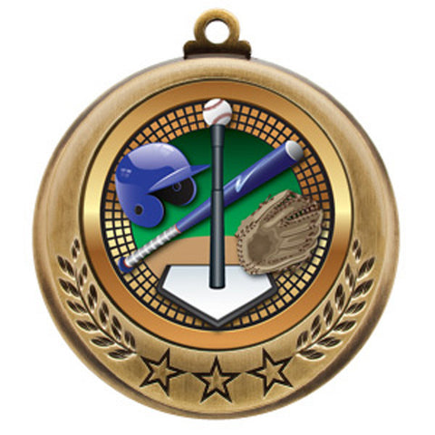 "T-Ball Medallion - Spectrum Series -  2 3/4"" Diameter (A3112) - Quest Awards"