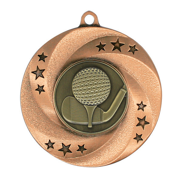 "Golf Medallion - Matrix Series - 2"" Diameter"