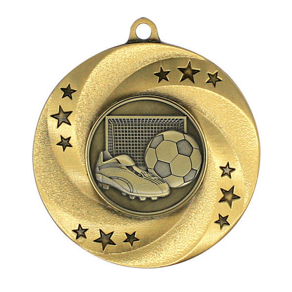 "Soccer Medallion - Matrix Series - 2"" Diameter (A2987) - Quest Awards"