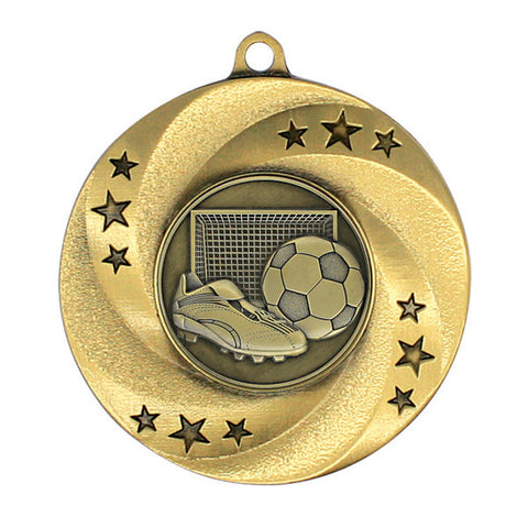 "Soccer Medallion - Matrix Series - 2"" Diameter - Quest Awards"