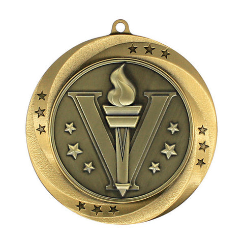 "Victory Medallion - Matrix Series - 2 3/4"" Diameter - Quest Awards"