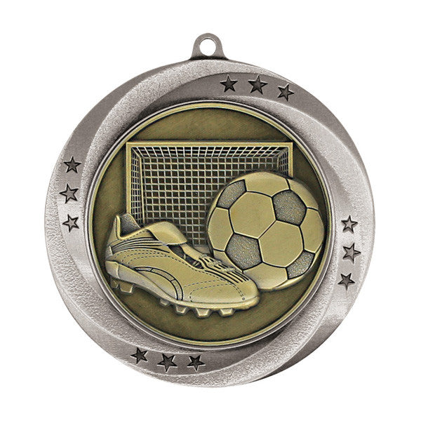 "Soccer Medallion - Matrix Series - 2 3/4"" Diameter (A2986) - Quest Awards"
