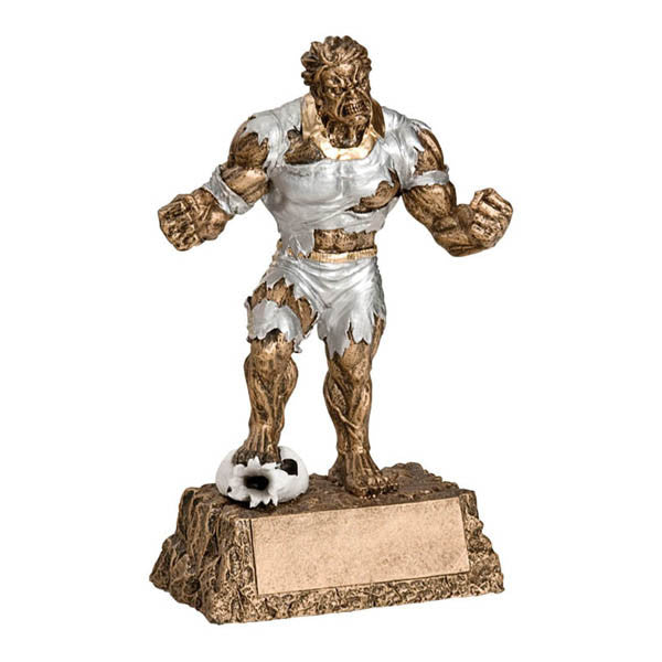 "Soccer Trophy - Monster Action Hero 6 3/4"" (A3036) - Quest Awards"