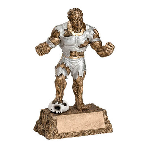 "Soccer Trophy - Monster Action Hero 6 3/4"" - Quest Awards"