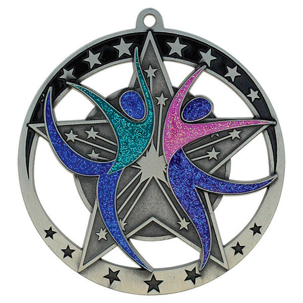 "Dance Medallion - Star Series 2 3/4"" Diameter"