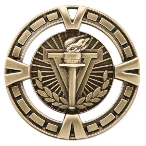 "Victory Medallion - Varsity Sports Medals - 2 1/2"" Diameter (A3163) - Quest Awards"