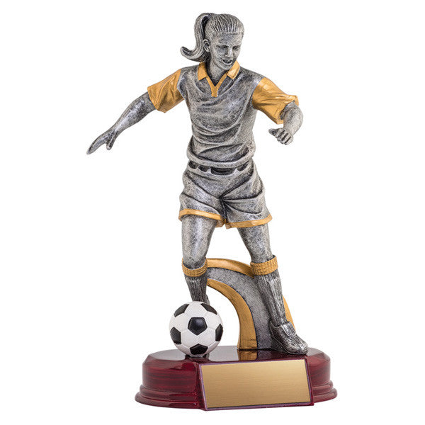 Soccer Trophy - Classic Female Soccer - Quest Awards