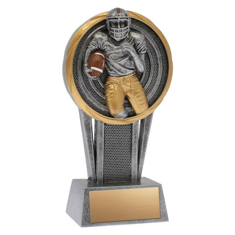 Football Trophy  - Vortex Series - 2 Sizes (A2435) - Quest Awards