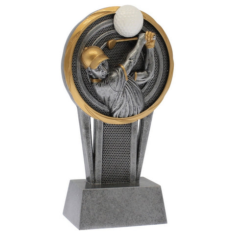 Golf Trophy - Vortex Golf Male - 2 Sizes (A3238) - Quest Awards