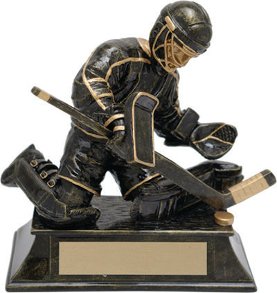 Hockey Trophy - Aztec Gold Goalie (A2640) - Quest Awards