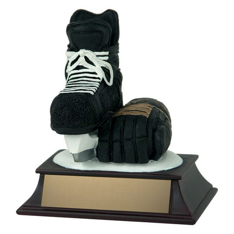 Hockey Trophy - Skate and Glove (A2707) - Quest Awards