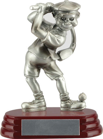 Comic - Golf Trophies - Golfer Male - Quest Awards