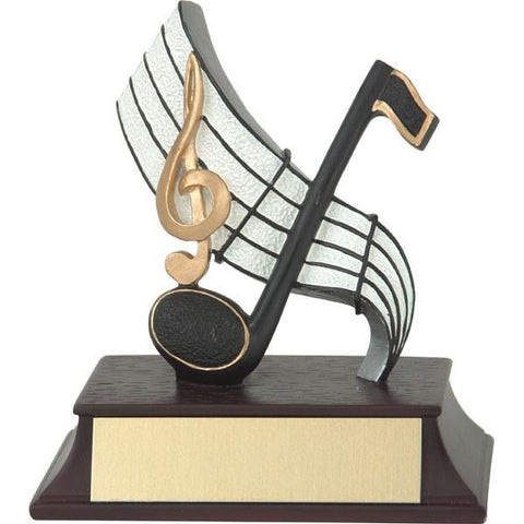 Academic Trophy - Musical Note - Quest Awards