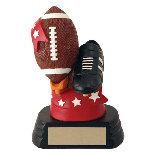 Football Trophy - All-Star Ball & Shoe (A2437) - Quest Awards