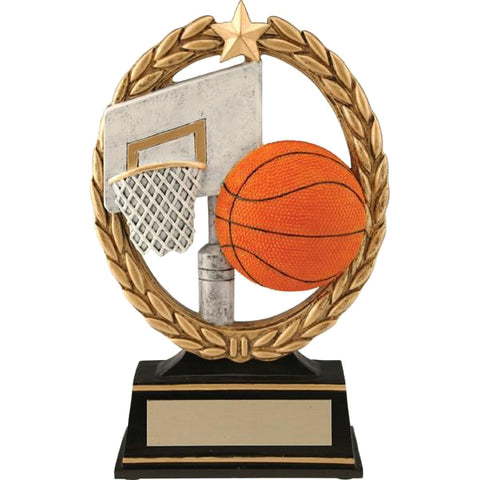 Basketball Trophy - Negative Space (A2226) - Quest Awards