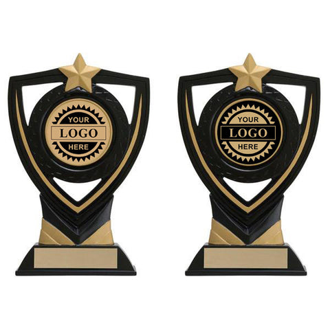 Logo Insert Trophy - Apex Shield Lg (A2809) - Quest Awards