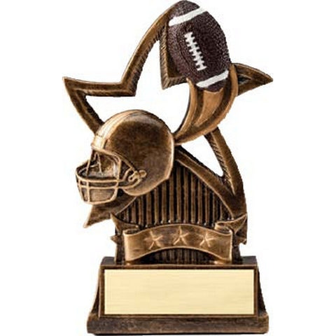Football Trophy - Star Resin Series (A2472) - Quest Awards