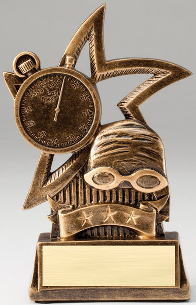 Swimming Trophy - Star Swimming - Quest Awards