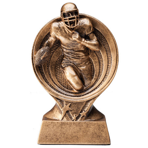 Football Trophy - Saturn Resin Series (A2464) - Quest Awards