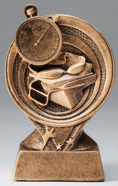 Swimming Trophy - Saturn Circle - Quest Awards