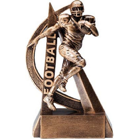 Football Trophy - Ultra Action Resin - 2 Sizes (A2479) - Quest Awards