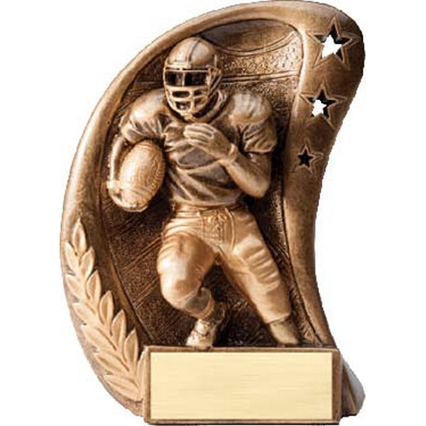 Football Trophy - Curve Resin Series (A2446) - Quest Awards