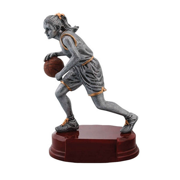 Basketball Trophy - Classic Player - Female (A3233) - Quest Awards