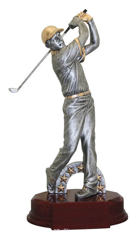 Golf Trophy - Classic Male Golfer (A2589) - Quest Awards