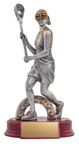 Lacrosse Trophy - Classic Female Lacrosse - Quest Awards