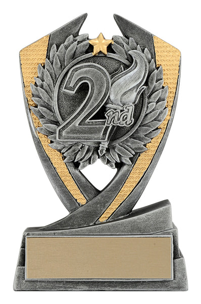 Achievement Trophy - 2nd Place Phoenix (A2032) - Quest Awards