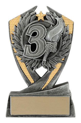 Achievement Trophy - 3rd Place Phoenix (A2033) - Quest Awards