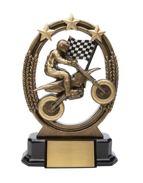 Racing Trophy - Tri-Star Motocross (A2944) - Quest Awards