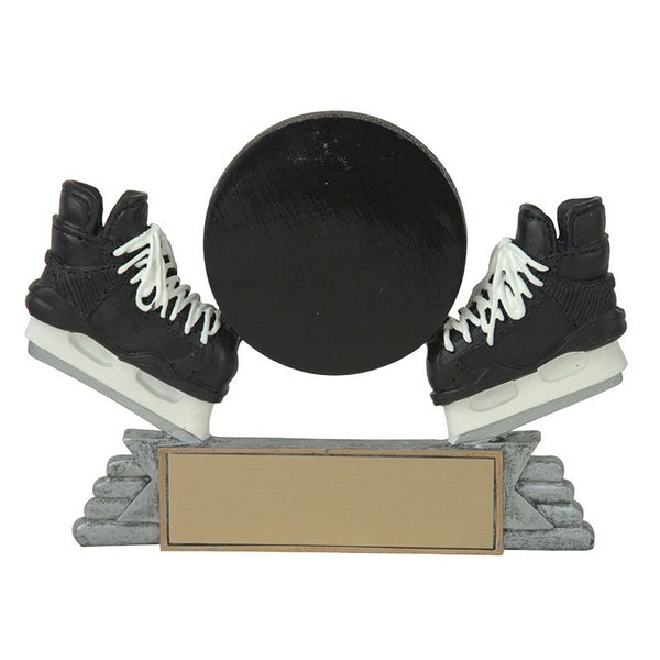 Hockey Trophy - Classic Puck & Skates (A2651) - Quest Awards