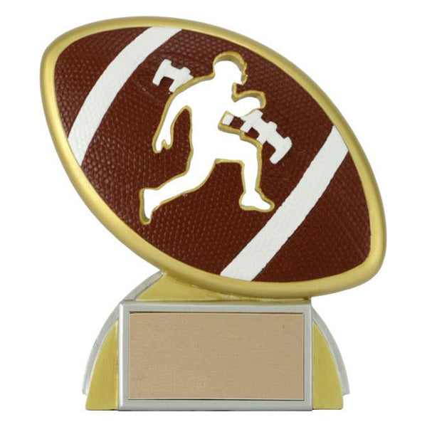 Football Trophy - Silhouette - 3 Sizes (A2465) - Quest Awards
