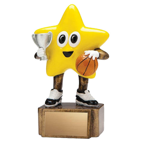 Basketball Trophy - Little Basketball Star (A2223) - Quest Awards