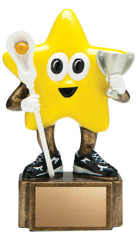 Lacrosse Trophy - Little Lacrosse Star - Quest Awards