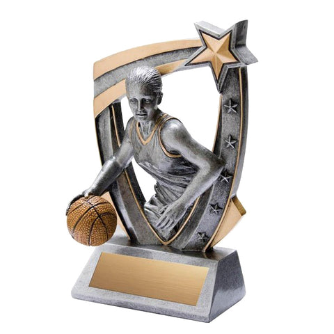 Basketball Trophy - 3-D Female Basketball (A2209) - Quest Awards