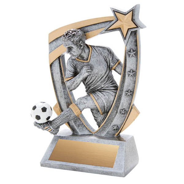 Soccer Trophy - 3-D Soccer - Male - Quest Awards