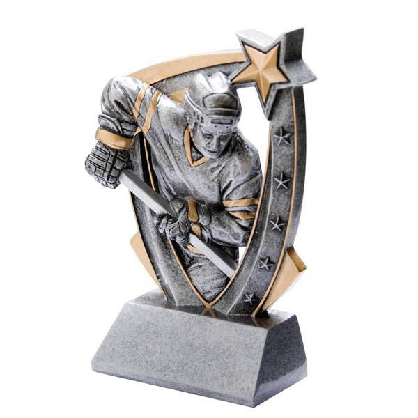 Hockey Trophy - 3-D Player - Male - Quest Awards